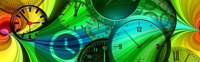 godziny na minuty na sekundy